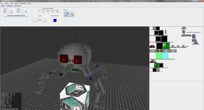 Mcanimator tool for minecraft 1 8 1 1 8 minecraftsix Minecraft 3d model maker