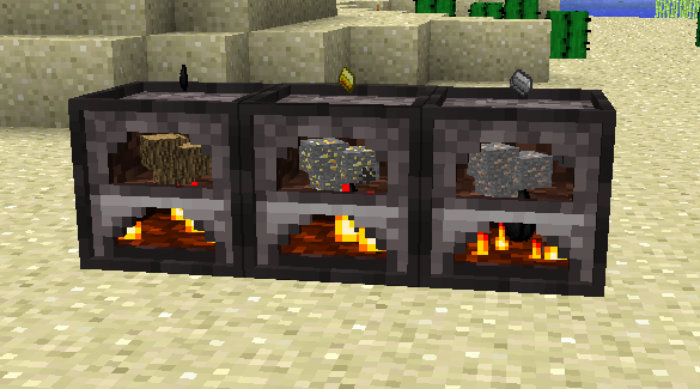 3d furnaces mod for minecraft 1 minecraftsix for How to craft a furnace in minecraft