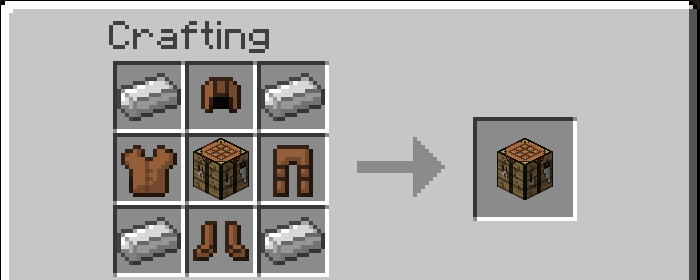 Modular armor mod for minecraft 1 8 1 minecraftsix - How do you use a crafting table in minecraft ...