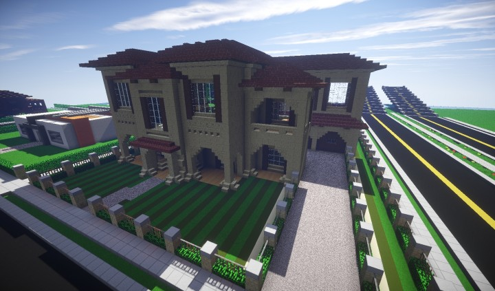 how to build a small minecraft town