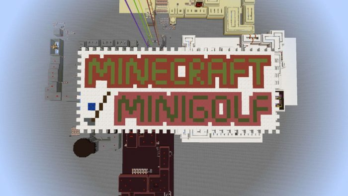 minecraft-minigolf-map