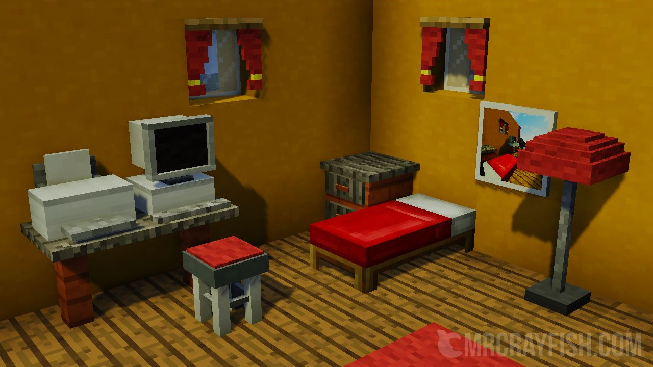 mrcrayfish s furniture mod for minecraft