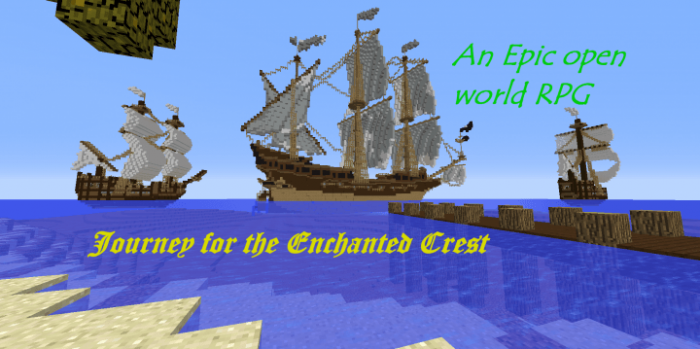 the-journey-for-the-enchanted-crest-minecraft