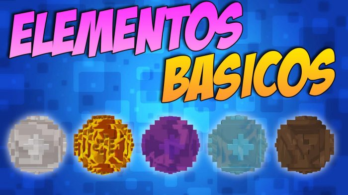 the basic elementos mod