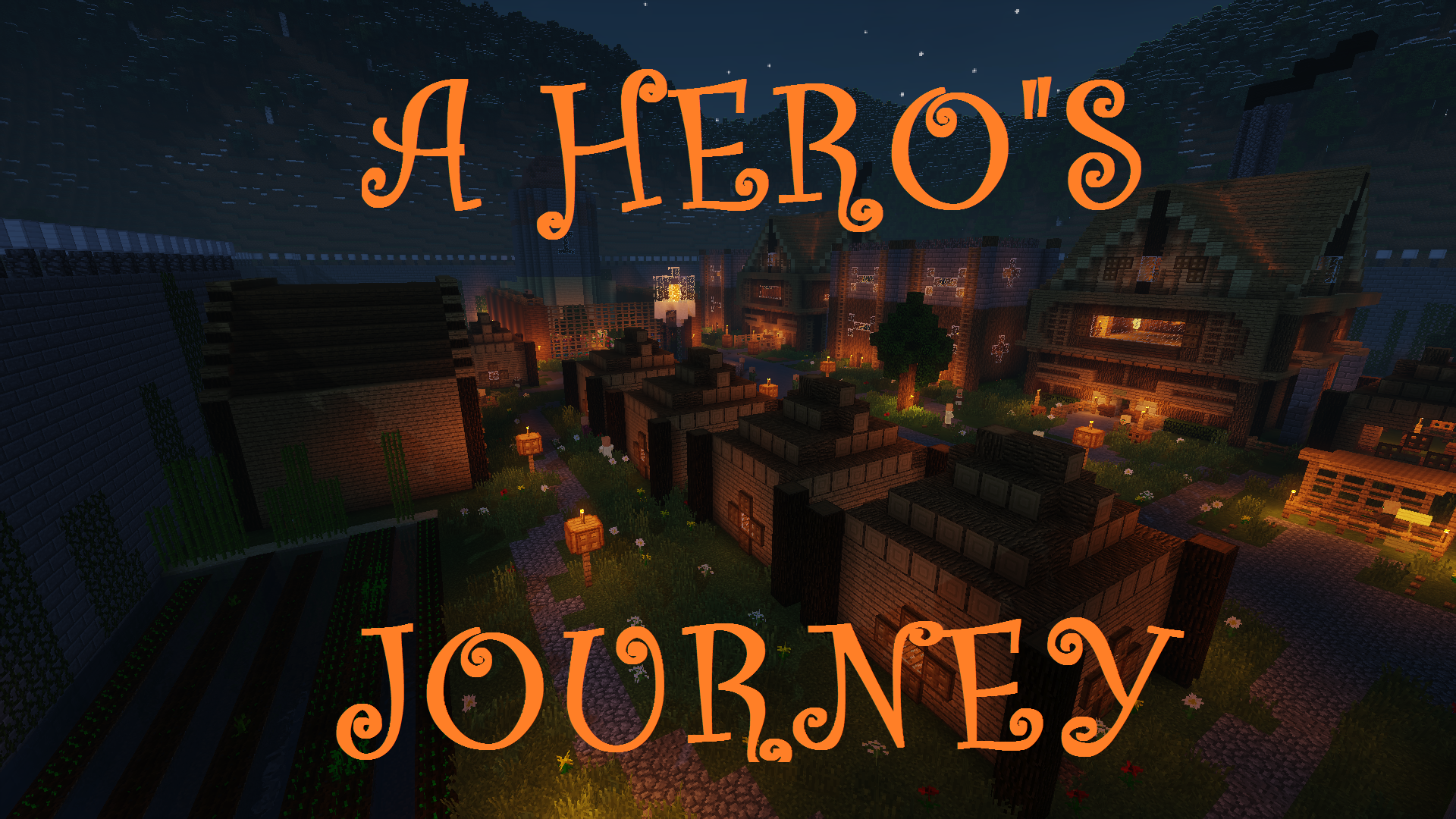 a heros journey map for minecraft 1112