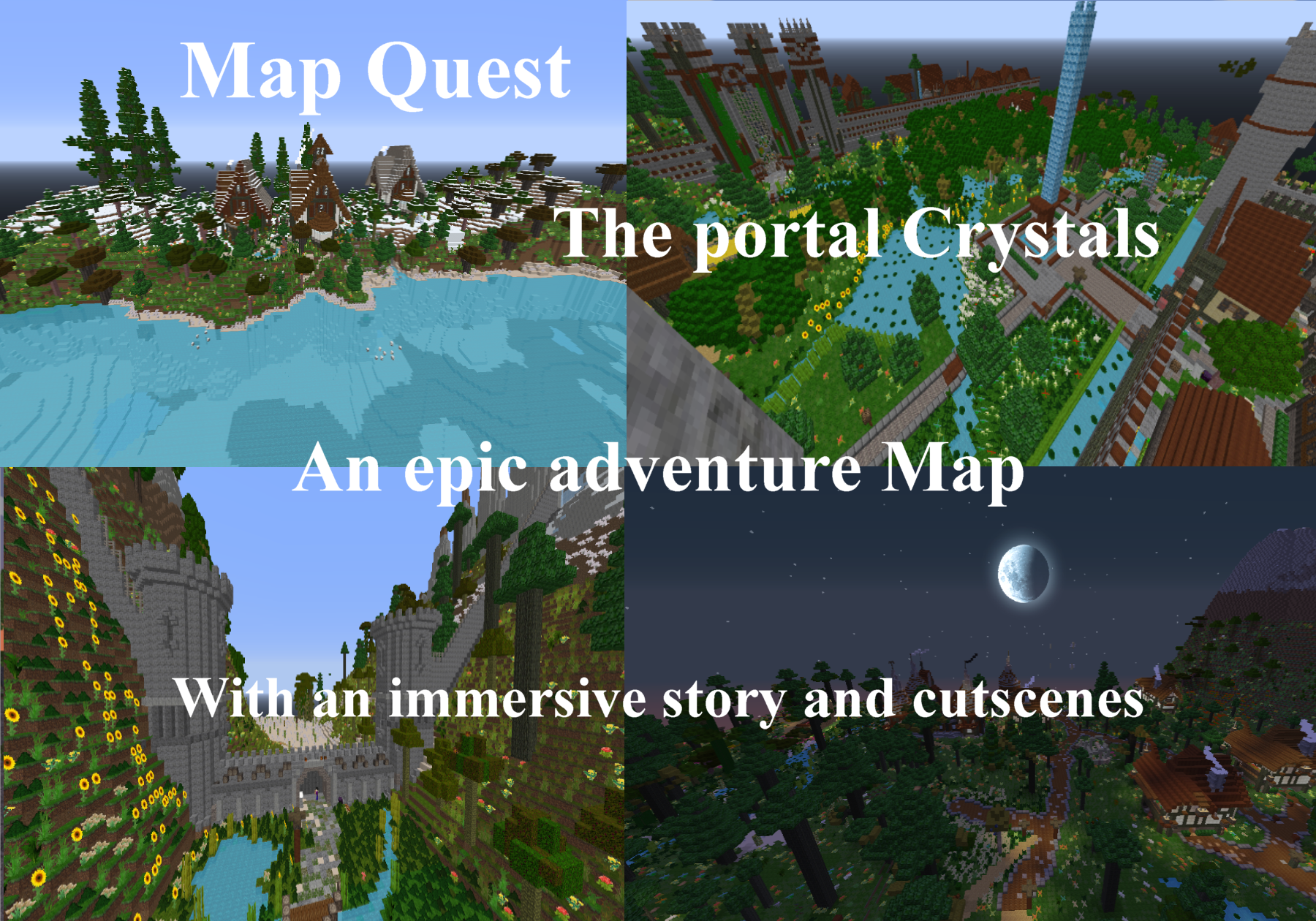map quest the portal crystals map for minecraft 1112